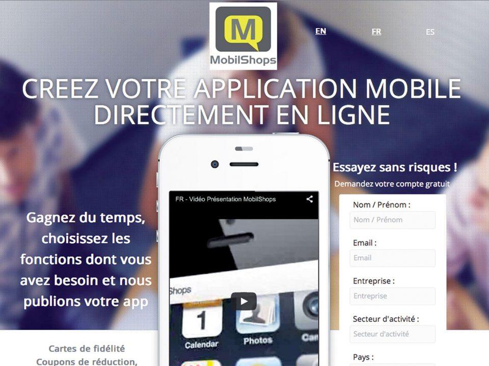 MobilShops démocratise l'appli'