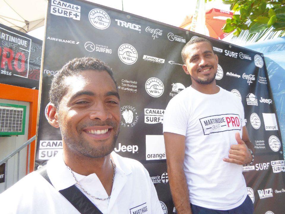 Pour Nicolas Ursulet et Nicolas Clémenté, la Martinique a quelque chose a donner et à recevoir du monde : le surf !