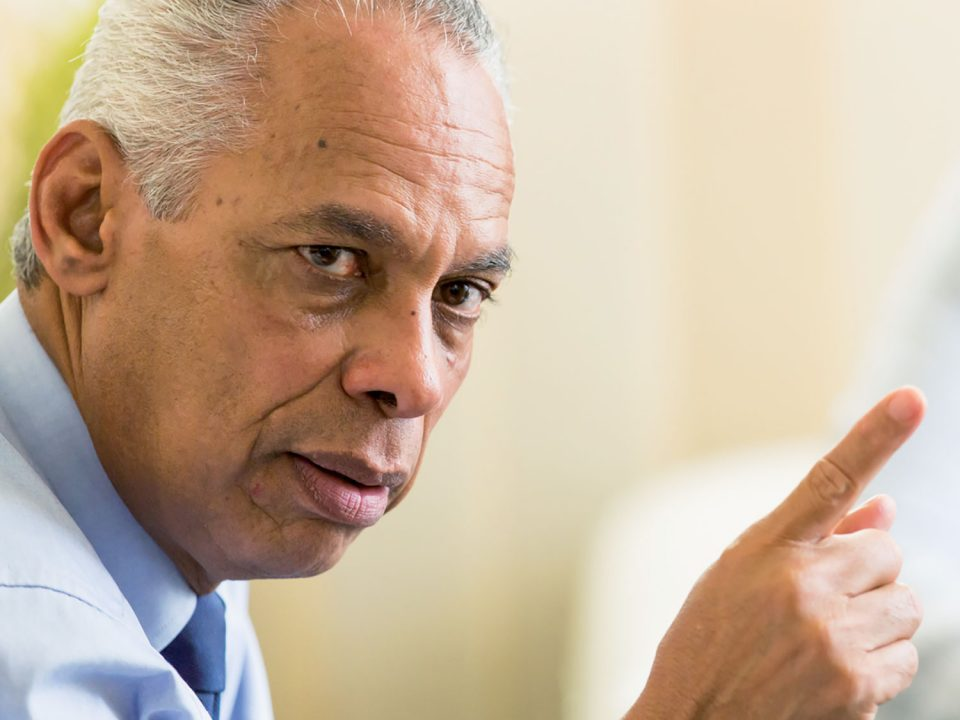 Victorin Lurel, ancien Ministre des Outre-mer, porteur de la loi Sucre