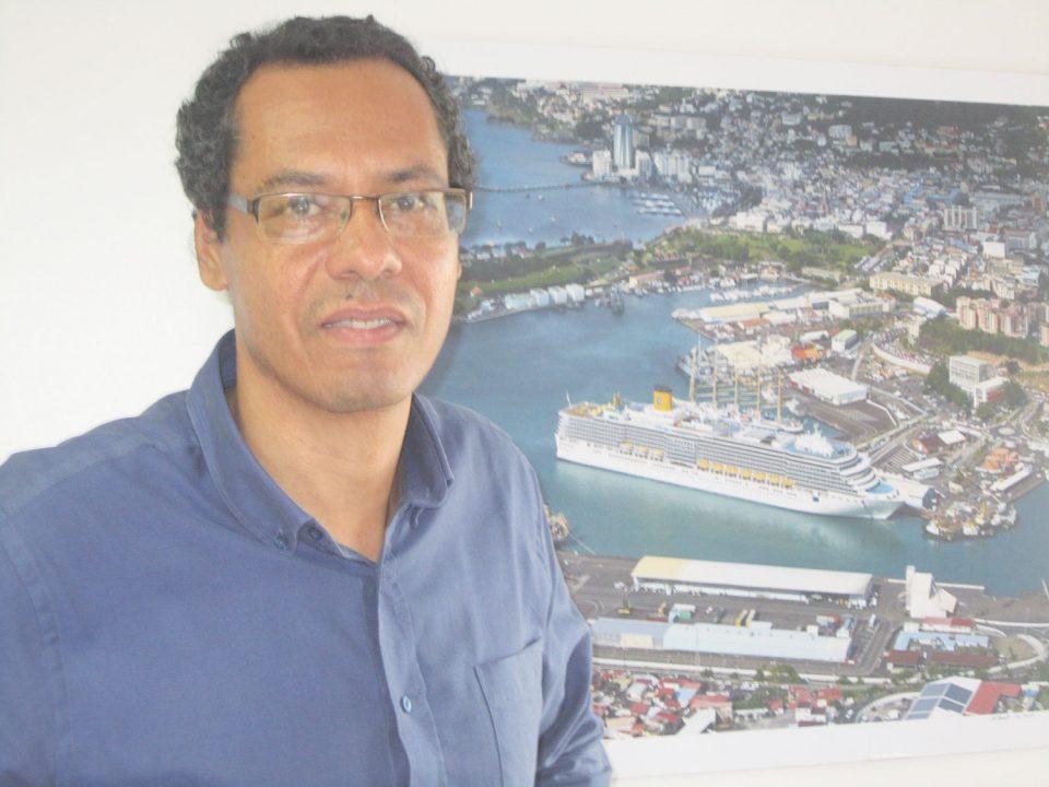 Jean-Rémy Villageois, président du Directoire du Grand port maritime de la Martinique