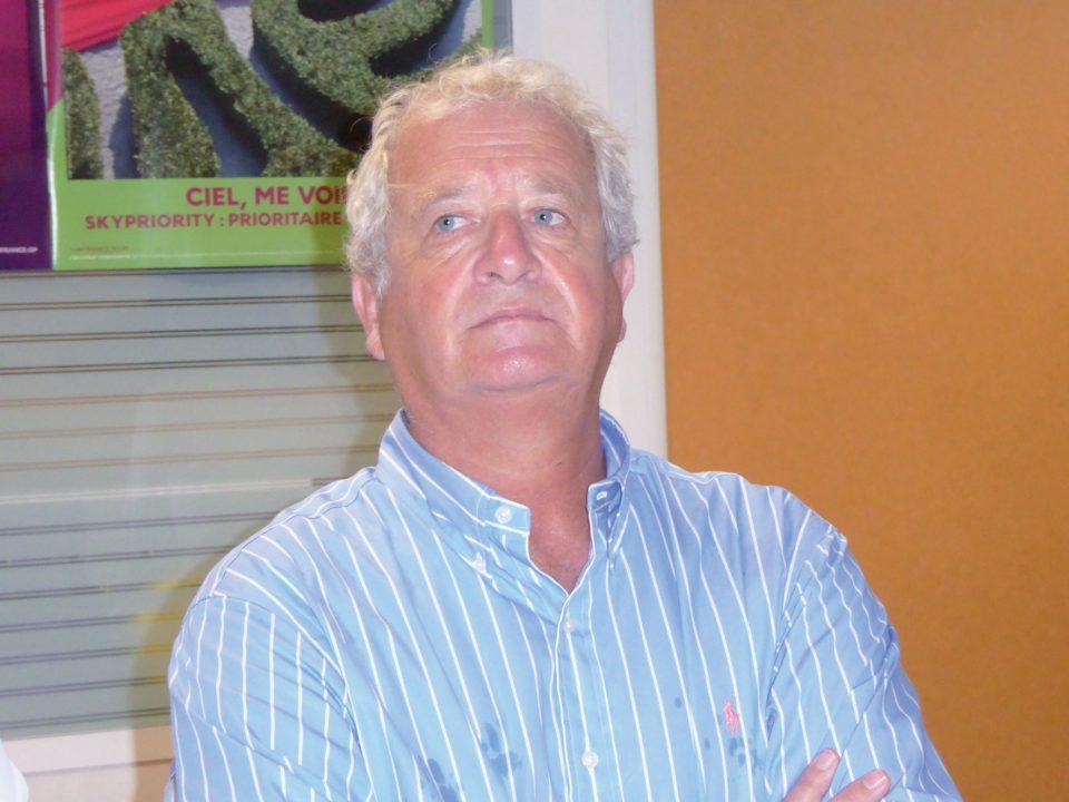 Serge Tzygalnitzky, directeur général d'Air Antilles