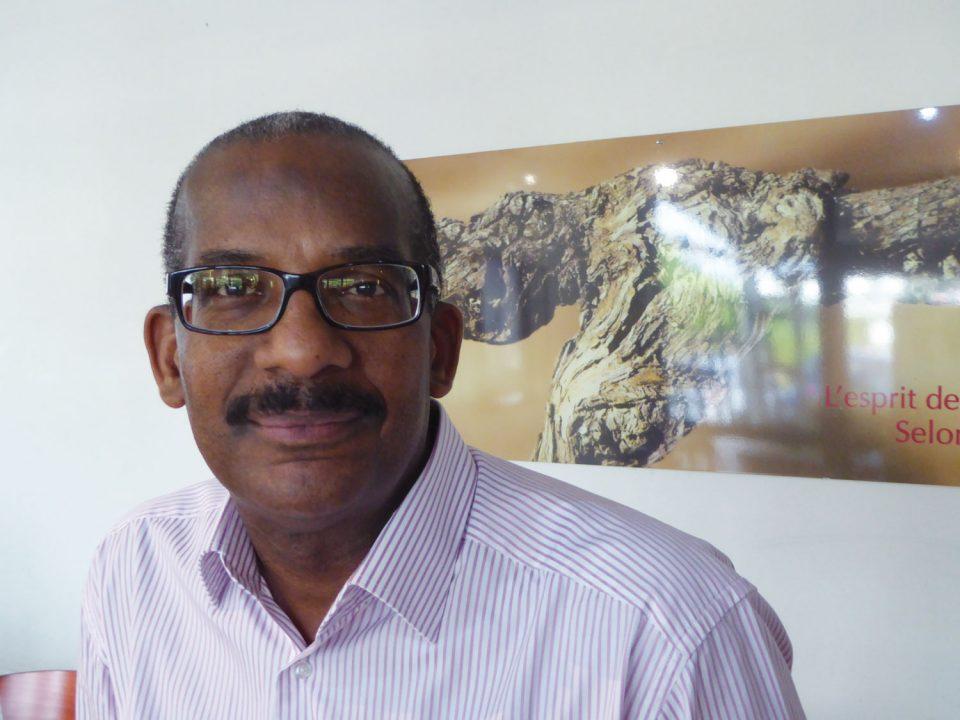 Philippe Edmond-Mariette, secrétaire pour le groupe Outre-mer du bureau CESE