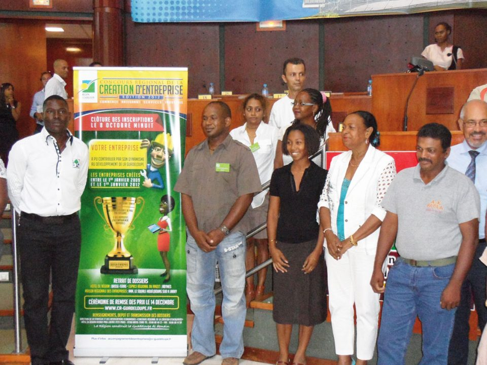 4e édition du concours régional de la création d'entreprise de Guadeloupe