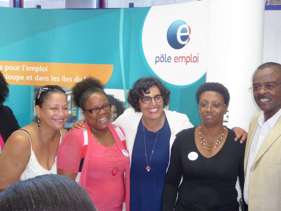 Myriam El Khomri confrontée à la difficulté du dialogue sociale en Guadeloupe