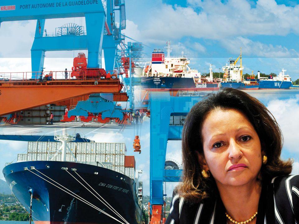 """Marie-Luce Penchard : """"Les ports des Antilles-Guyane doivent élaborer une complémentarité économique"""""""