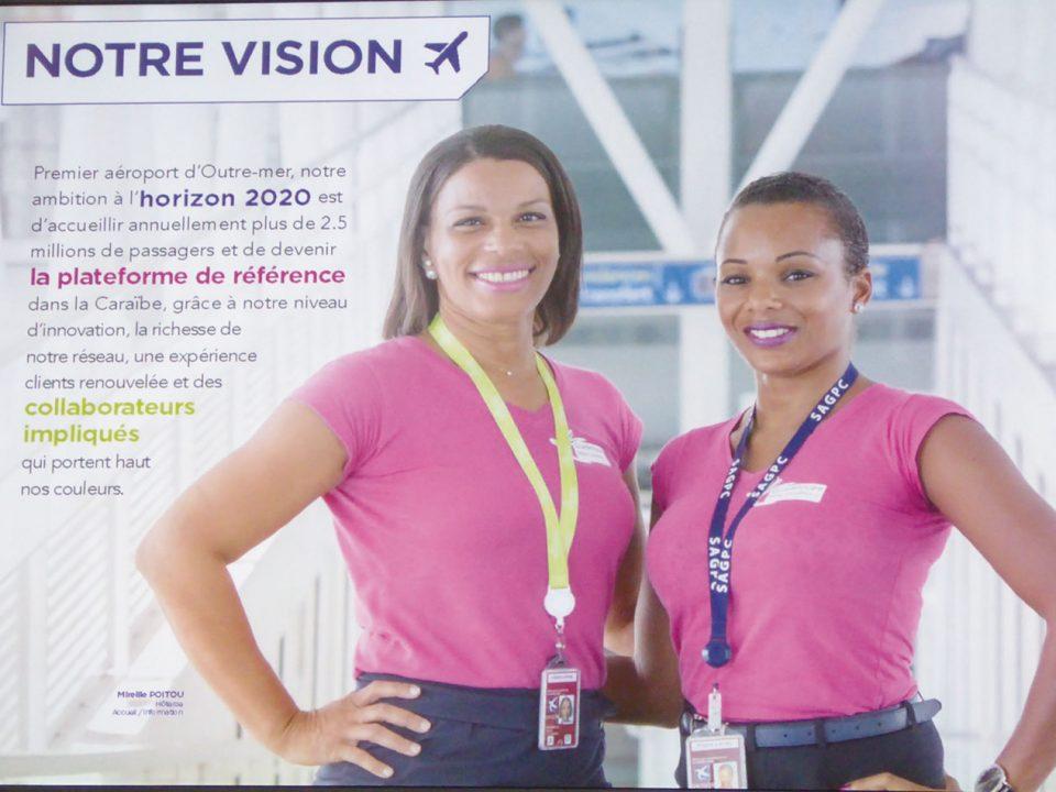 Trafic aérien : Guadeloupe Pôle Caraïbes casse la baraque !