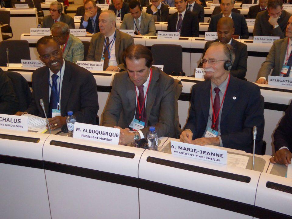 Ouverture du 4e forum des RUP à Bruxelles
