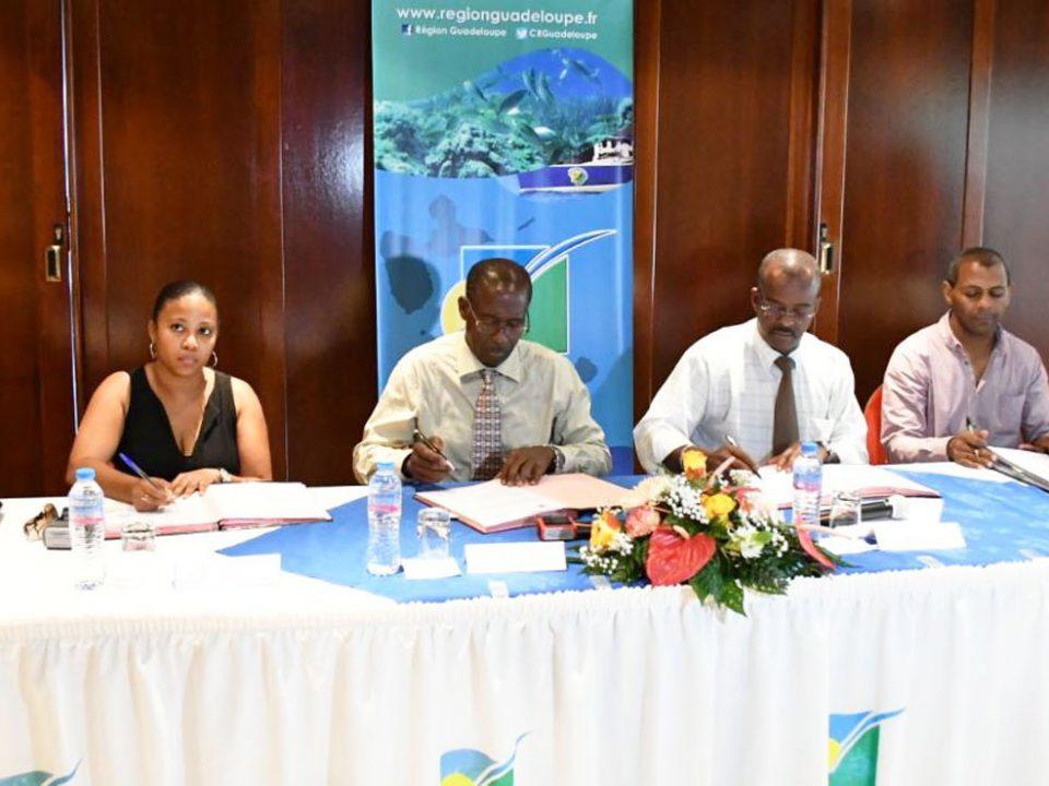 NACRE : c'est désormais La Région Guadeloupe qui gère