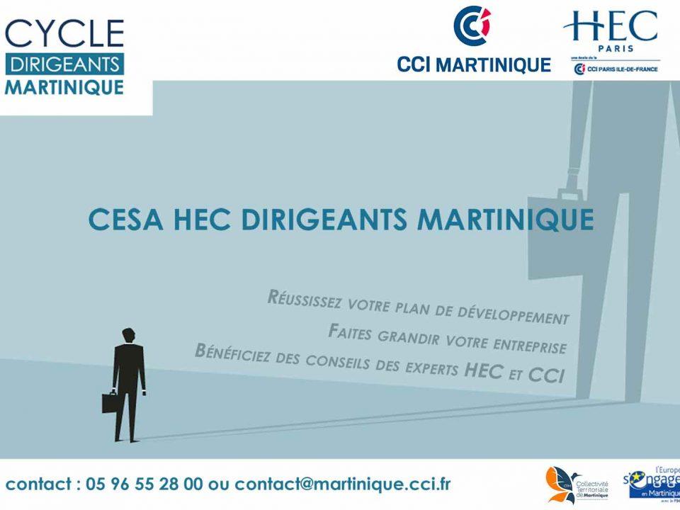 """La septième promotion HEC """"Dirigeants PME Martinique"""" commence"""