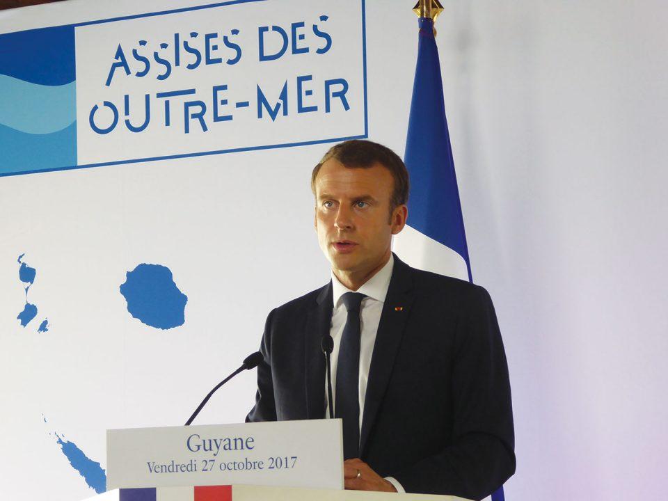 Des Assises des Outre-mer pour un nouveau pacte : Emmanuel Macron veut un partage des responsabilités.