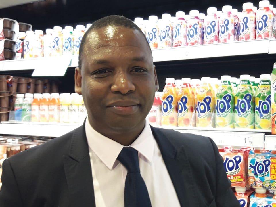 Ibrahima Sall, directeur commercial de Leader Price Martinique