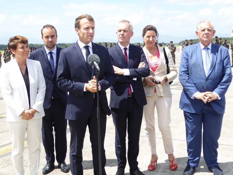 Interview Emmanuel Macron et l'économie outre-mer