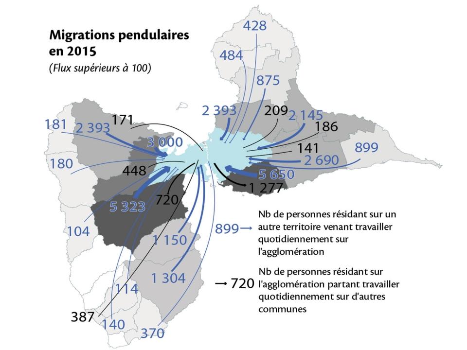 Plan de déplacement  en Guadeloupe : expérimentation de bus des mers