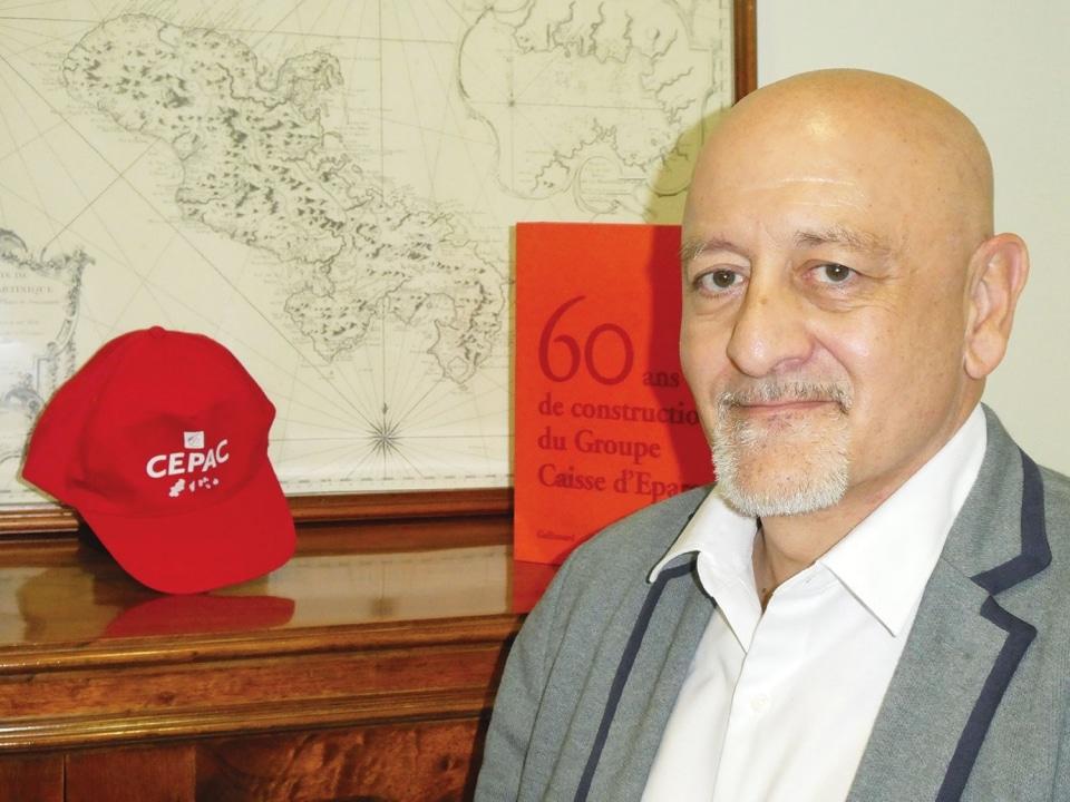 """Question à Alain Ripert, directeur de la CEPAC Antilles Guyane : """"Une relation de proximité avec tous les clients !"""""""