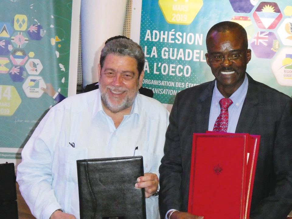La Guadeloupe, onzième membre de l'OECO