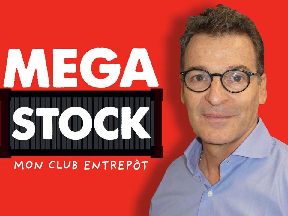 """Patrick Fabre : """"Méga Stock, c'est un trois en un !"""""""