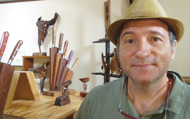 Coutellerie: Vert Tige maîtrise le bois, l'acier et le plastique