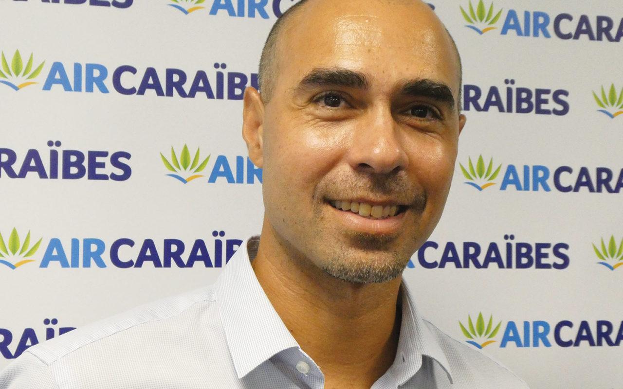 Portrait de Yoann Paulin, directeur général délégué d'Air Caraïbes