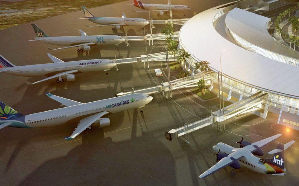 Aéroport Martinique Aimé Césaire : reprise des travaux