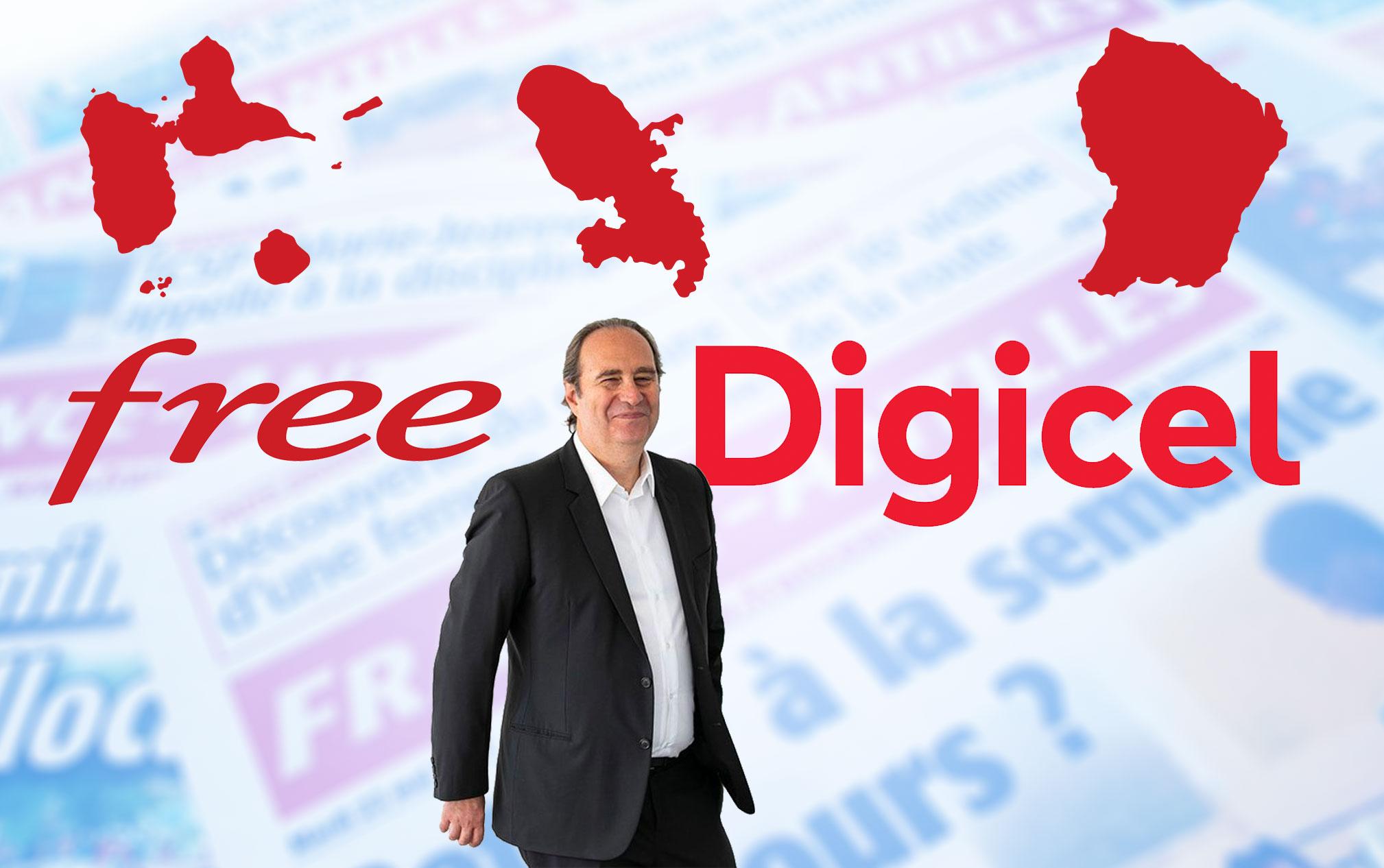 France-Antilles/Digicel : le coup double de Xavier Nel aux Antilles-Guyane