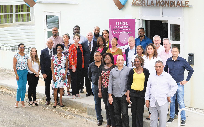 Retraite : les Cicas prennent leurs quartiers en Guadeloupe et en Guyane