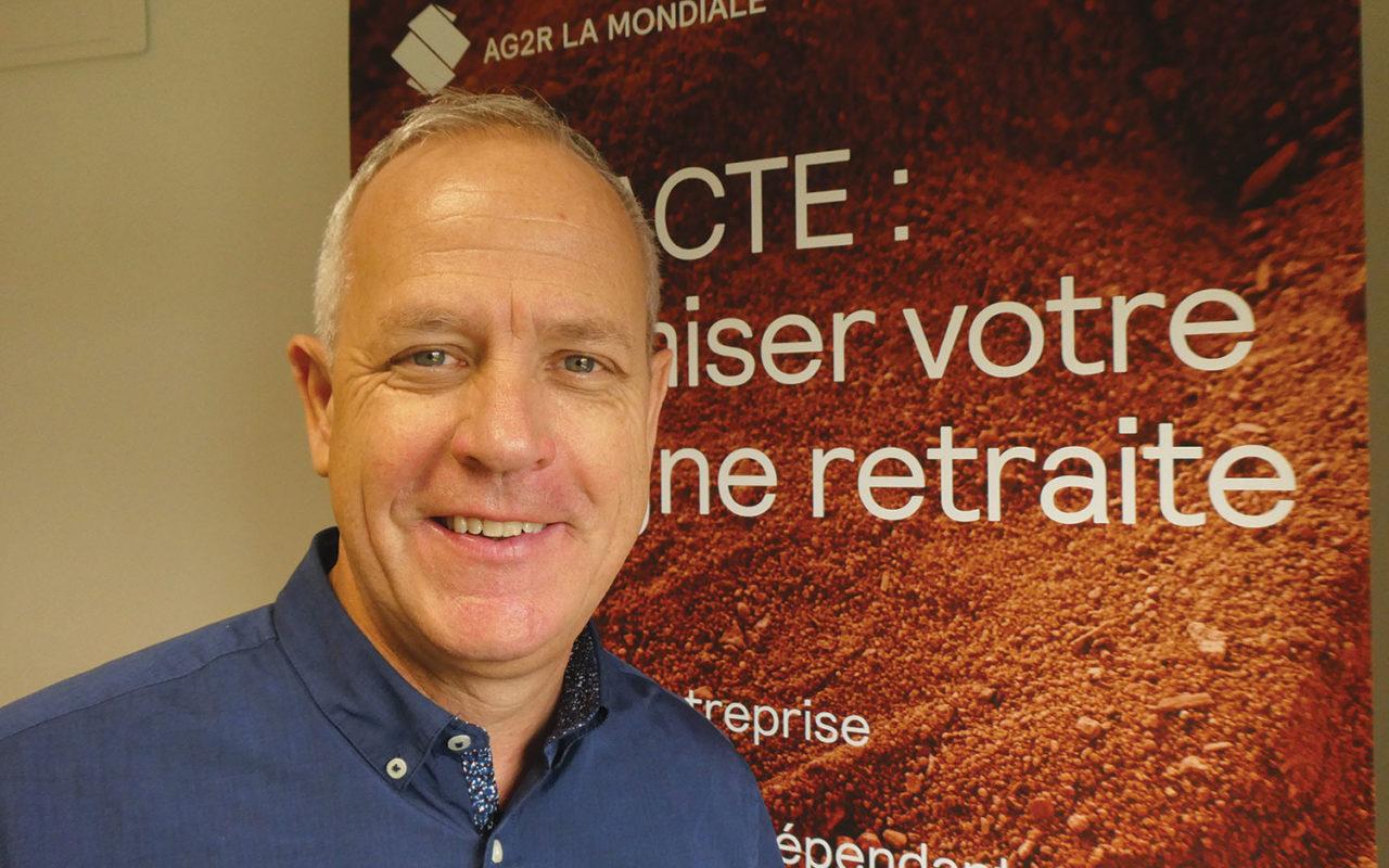 Portrait de Stéphane le Roux, AG2R la mondiale