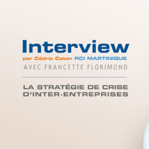 Interview de Francette Florimond par Cedric Catan sur RCI Martinique