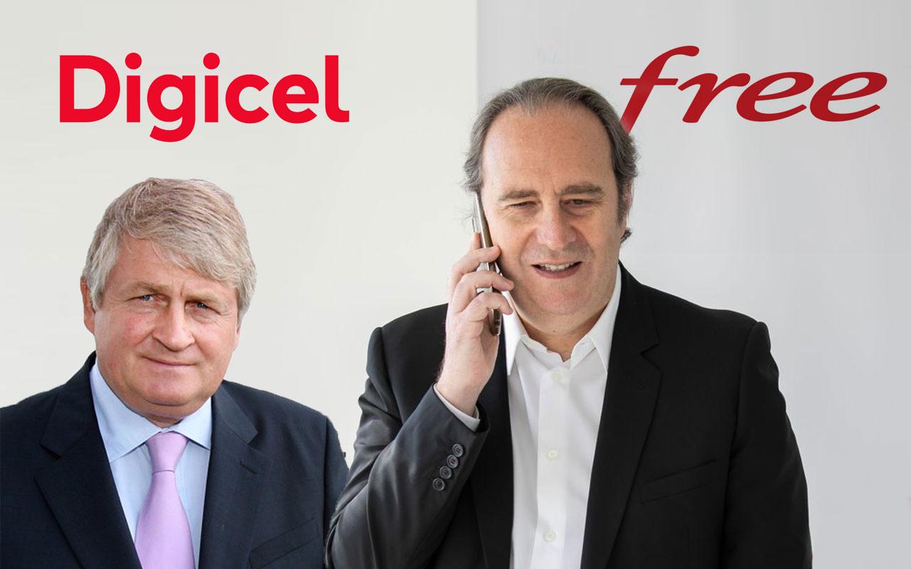 Digicel et Iliad créent une co-entreprise