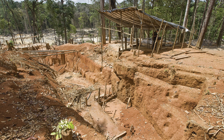 Nouvelle concession minière en Guyane