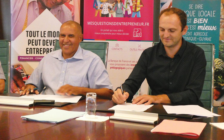 Financement en Guadeloupe, en Martinique et en Guyane : le Crédit Agricole re-signe avec l'Adie