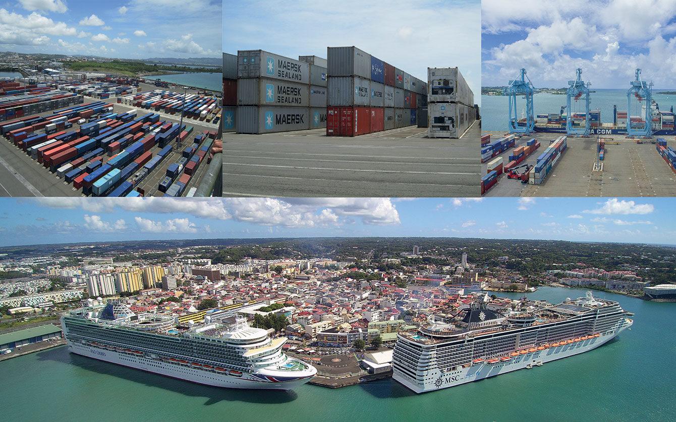 Ports des Antilles-Guyane : accélérer la mutation
