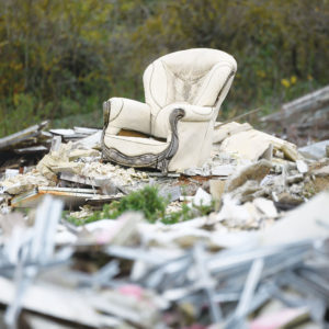 Disparition des dépôts sauvages