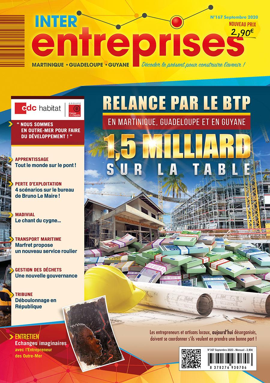 Magazine Interentreprises Septembre 2020 – N°167