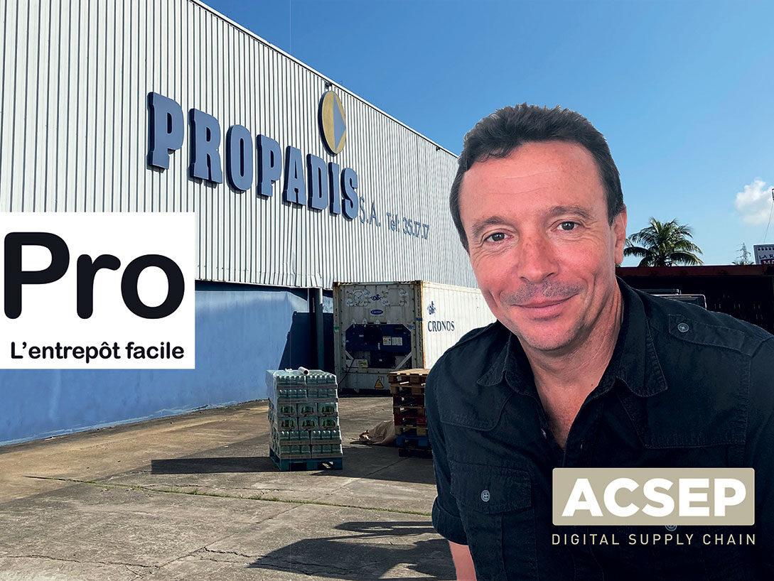 Logistique aux Antilles-Guyane : Acsep digitalise la gestion d'entrepôt