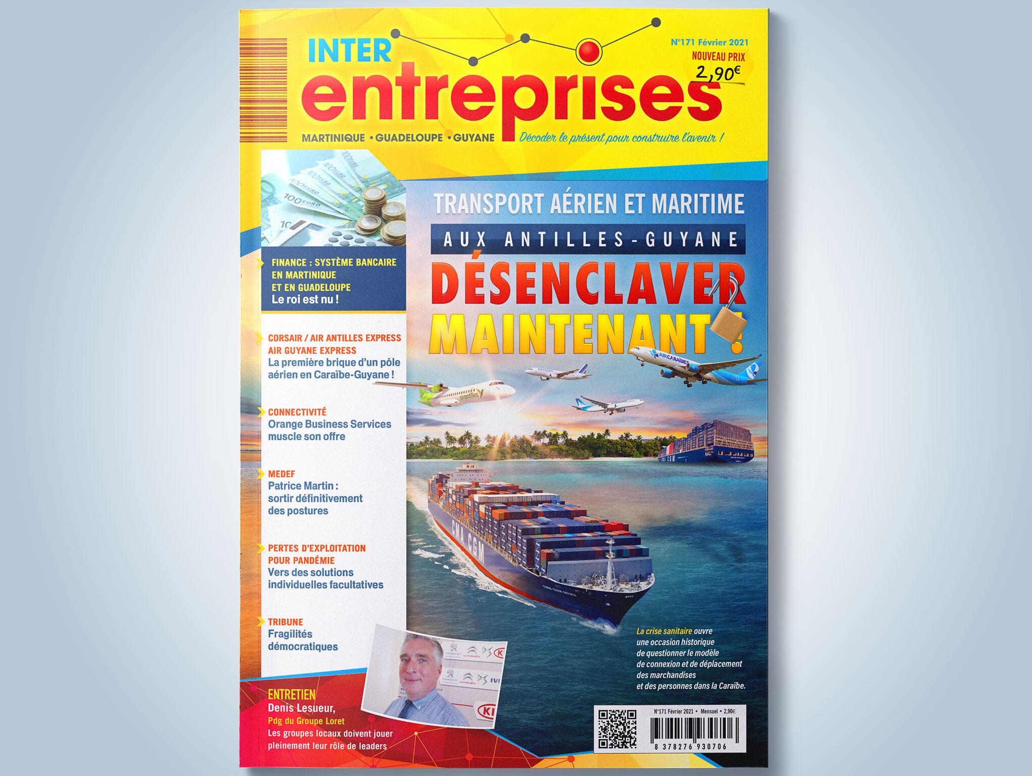 Transport maritime, aérien aux Antilles-Guyane : désenclaver la Caraïbe française : maintenant !