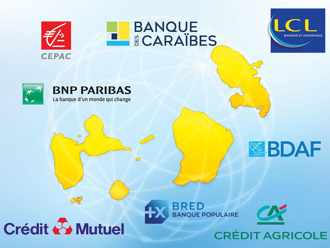 Système bancaire en Guadeloupe et en Martinique : le roi est nu !